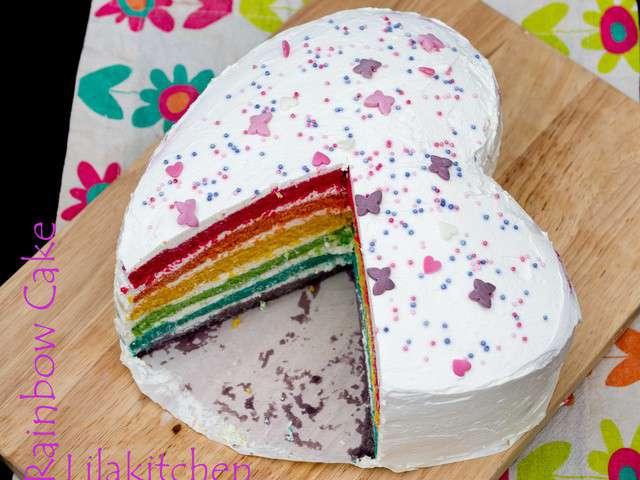 Rainbow Cake Mascarpone Philadelphia Blog