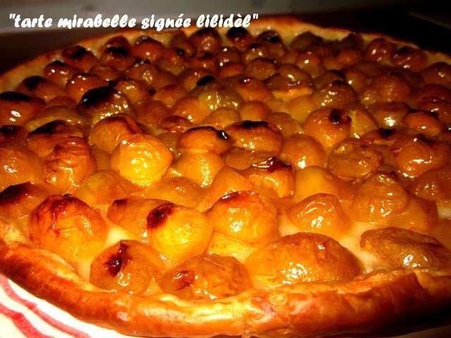Les meilleures recettes de mirabelle et tarte mirabelles - Recette avec des mirabelles ...