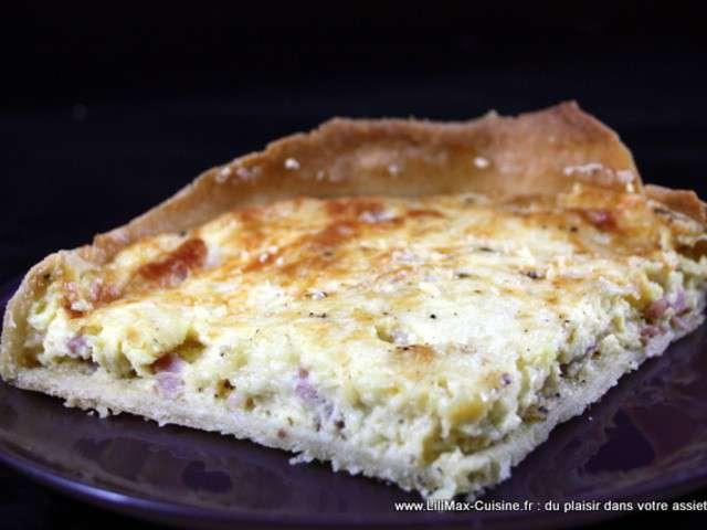 Recettes de quiche lorraine de lilimax cuisine for Cuisine quiche lorraine