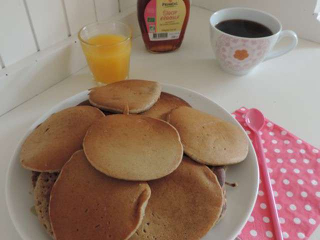 recettes de pancakes de lilith fait des bento v g taliens. Black Bedroom Furniture Sets. Home Design Ideas