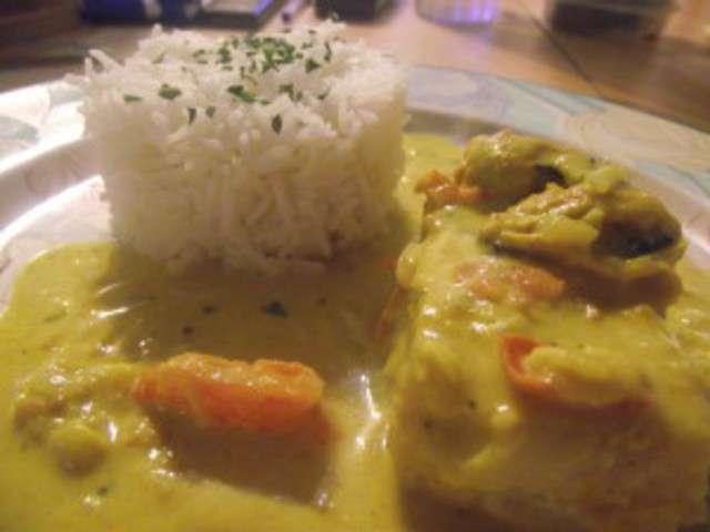 Recettes de colin et curry - Cuisiner du colin surgele ...