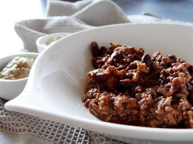 Les meilleures recettes de chili et thermomix - Recette chili cone carne thermomix ...