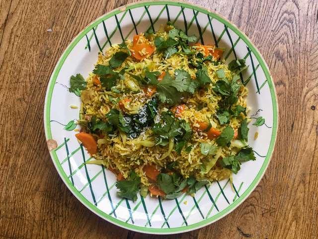 Riz indien recette note juespre avoir bien expliquer la recette si vous nuavez pas de joint - Absorber l humidite avec du riz ...