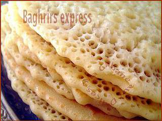 Baghrir crepe mille trous express