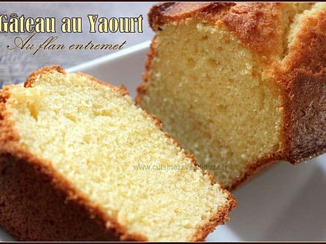 sponge cake ou gateau au yaourt les recettes populaires. Black Bedroom Furniture Sets. Home Design Ideas