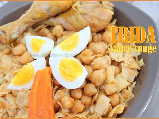 Les meilleures recettes de trida for Ab cuisine algerie