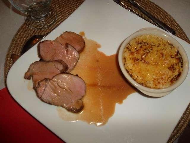 filet de porc cuisson poele