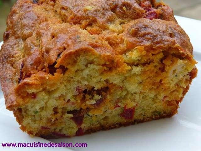 Recette De Cake Poivron Chorizo Chevre