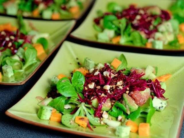 Salade de betterave - Cuisine crue et vivante ...