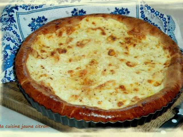 Recettes de tarte brioch e et maroilles - C est au programme recettes de cuisine ...