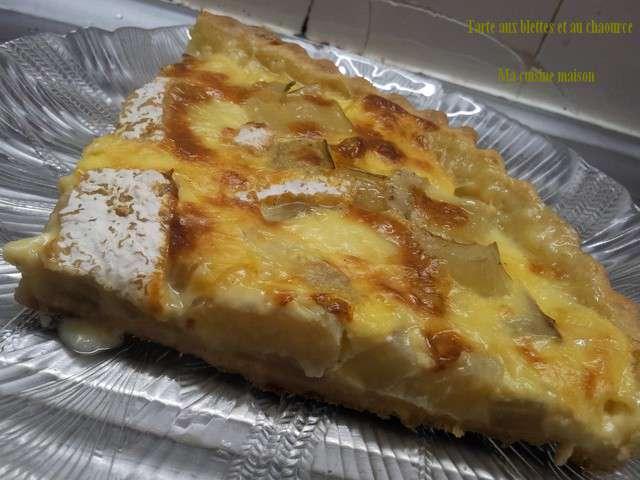Recettes de blettes et tarte aux blettes 2 for Aux maisons maison les chaources