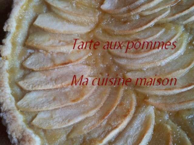 Recettes de compote de ma cuisine maison - Tarte aux pommes compote maison ...