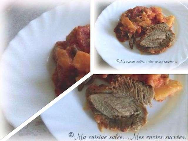 Recettes de cuisse de dinde et l gumes - Cuisine cuisse de dinde ...