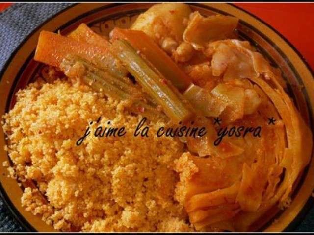 Recettes de couscous tunisien - Recette cuisine couscous tunisien ...