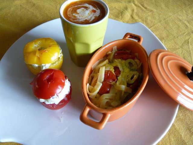 Recettes de tomates farcies et entr es for Cuisine entree facile