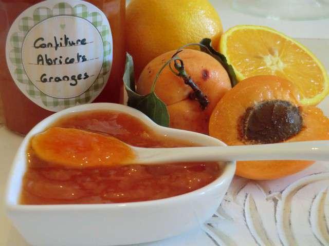 confiture abricot vanille agar agar