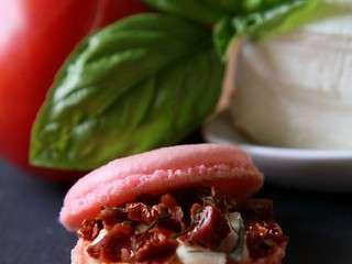 Macaron tomate mozzarella