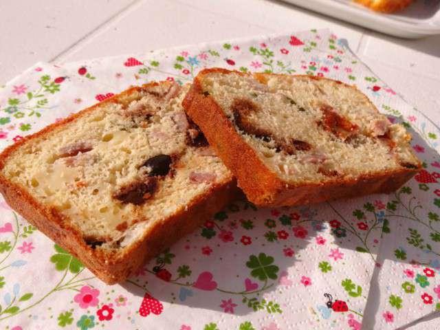 Cake Carottes Olives Feta