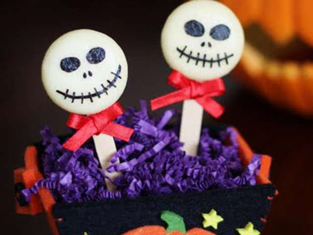 Recettes de halloween de maite and the gang - Idee deco gang schilderij ...