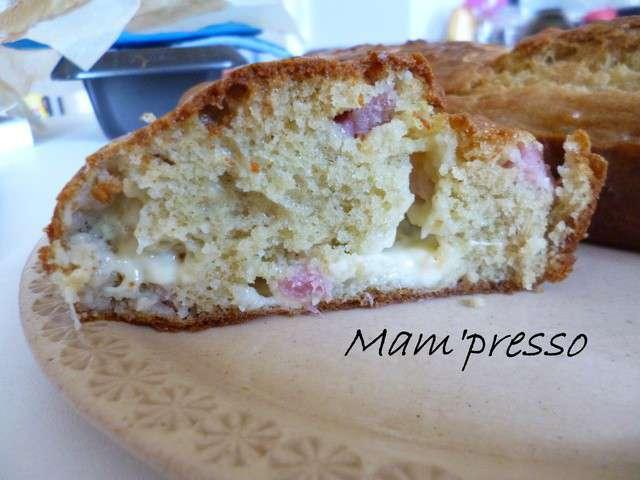 Cake Reblochon Jambon  Oeufs