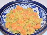 One pan dhal aux patates douces