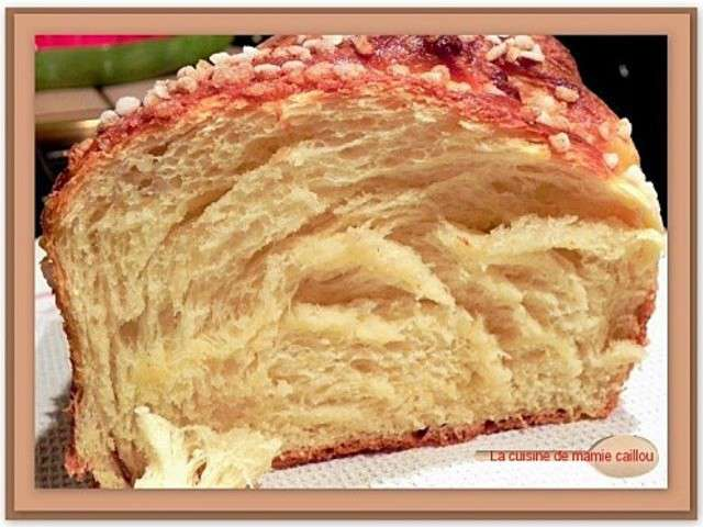 Les meilleures recettes de brioches de la cuisine de mamie - Caillou fait la cuisine ...