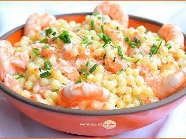 Recettes de Salade de la mer de La cuisine de mamie caillou