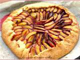Tarte rustique aux prunes, made in Germany...autrement dit une Pflaumentorte sehr rustikal
