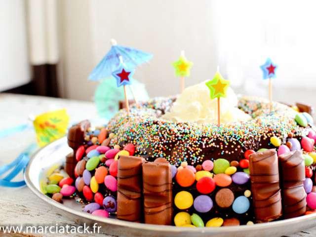 Les meilleures recettes d 39 anniversaire et bonbons - Idee paquet bonbon pour anniversaire ...