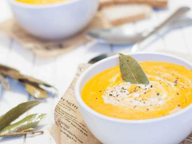 Recettes de soupe de marine is cooking - Soupe de legume maison ...