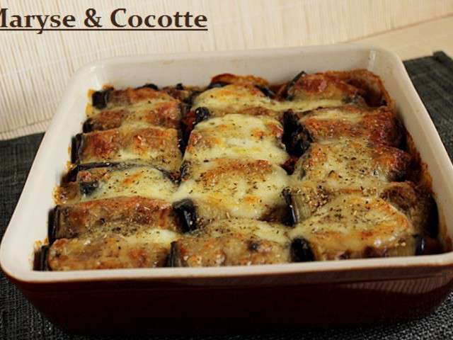 Recettes d 39 aubergines et aubergines grill es 2 - Recette aubergine grillee ...