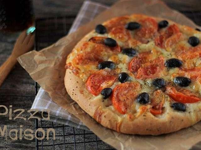 Recettes de pizza maison - Veritable pate a pizza ...