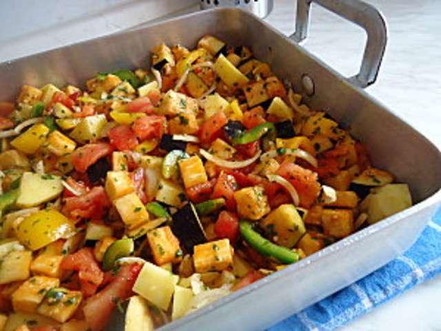 Les meilleures recettes de l gumes grill s et cuisine au four - Cuisiner le maquereau au four ...