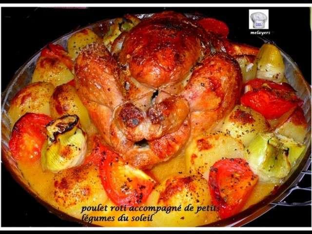 Top Recettes de Poulet rôti et Tomates LN19