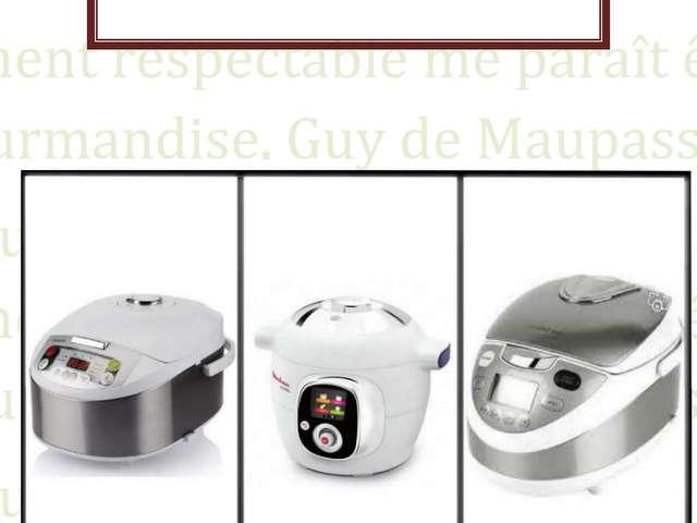 Recette Multicuiseur Moulinex 12 En 1 recettes de multicuiseur