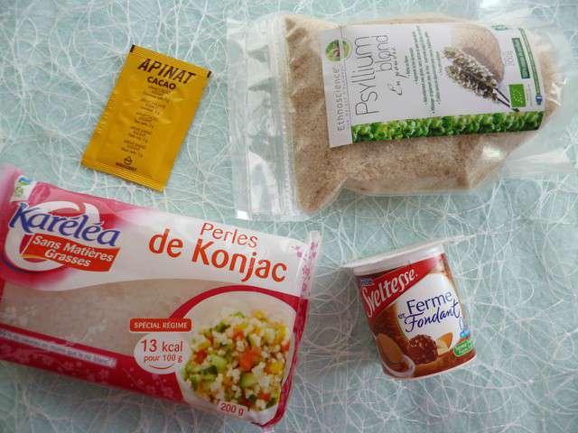 Recettes de konjac et pralines - Gateau sans sucre ni beurre ...