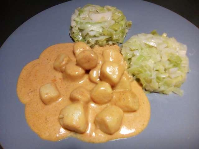 Recettes de noix de saint jacques et curry - Noix de saint jacques curry ...