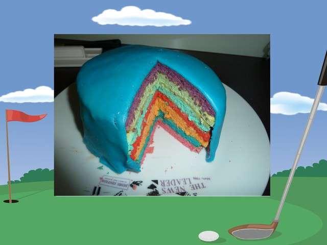 Recettes de rainbow cake 6 - Gateau arc en ciel thermomix ...