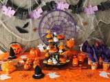 Table Enfants Halloween 2015