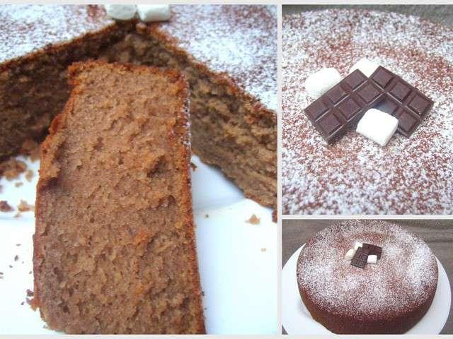 Recettes de farine de chataigne et cr me de marrons - Recette gateau chocolat creme de marron ...
