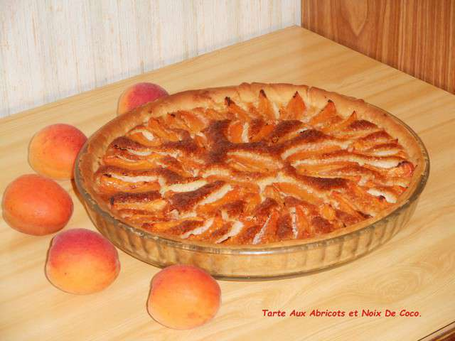 recettes de tarte aux abricots. Black Bedroom Furniture Sets. Home Design Ideas