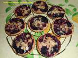 Tartelettes amandine aux fruits rouges