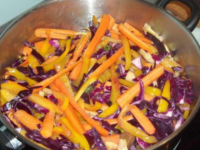 Recettes de l gumes de mes tests culinaires la cuisine for La cuisine facile