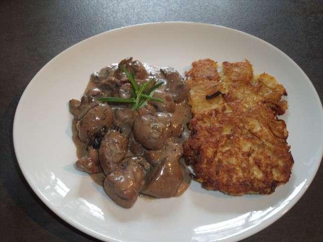 Recettes de rognons de veau de mes tests culinaires la - Cuisiner rognons de veau ...