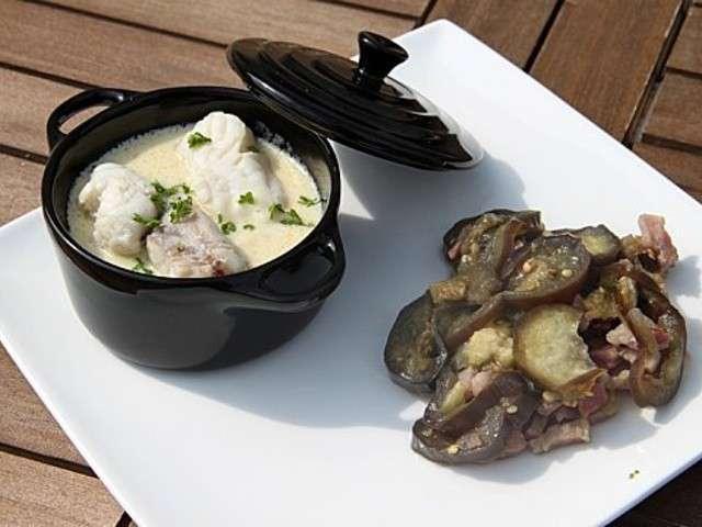 Les meilleures recettes de lotte et aubergines for Cuisine queue de lotte