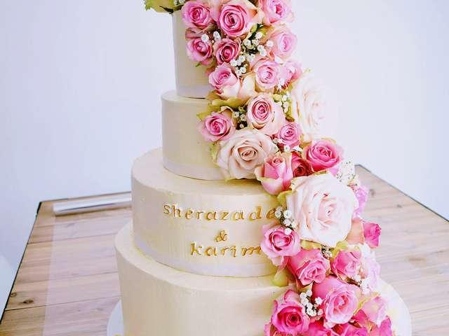 Wedding Cake Marron