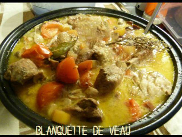 Recettes de blanquette de veau 10 - Cuisine blanquette de veau ...