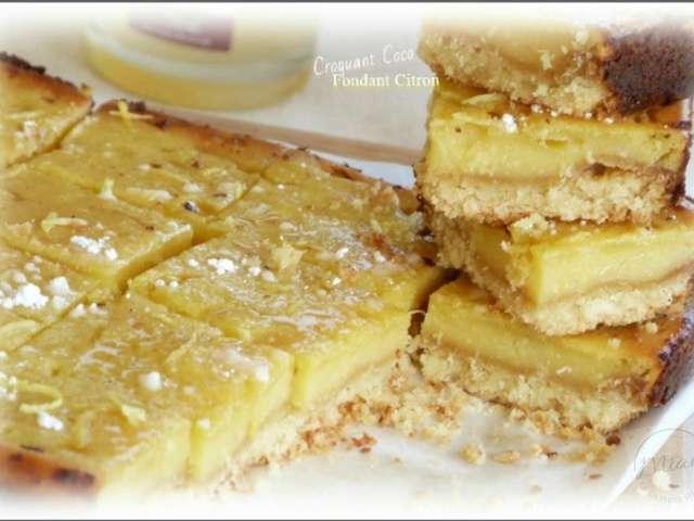 Recettes de fondant et citrons - La cuisine de bernard fondant ...