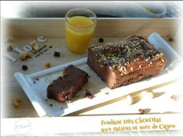 Recettes de raisin et chocolat - La cuisine de bernard fondant ...