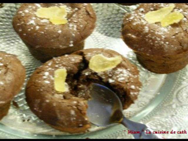 Recettes de moelleux au chocolat de miam la cuisine de cath for Au coeur de la cuisine